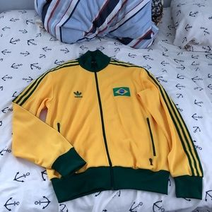 Adidas Brazil Original track jacket Sz. Large L